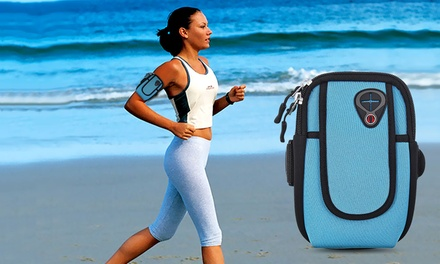 Universal Sports Armband with Pouch for iPhone or Smartphones from AED 39 (Up to 57% Off)