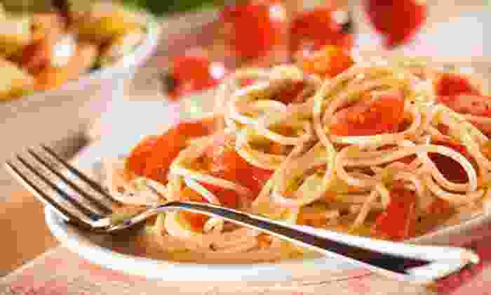 Villa D' Este - Merced Manor: Italian Cuisine and Drinks at Villa D' Este (Half Off). Two Options Available.