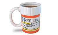 GROUPON: Big Mouth Toys Prescription Coffee Mug Big Mouth Toys Prescription Coffee Mug