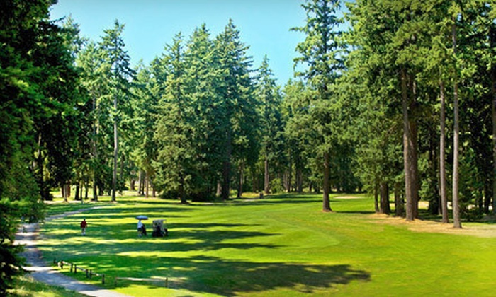 Lake Spanaway Golf Course - Spanaway: 18-Hole Round of Golf for Two or Four at Lake Spanaway Golf Course (Up to Half Off)