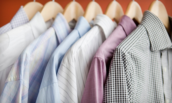 Ed Robinson Cleaners - Multiple Locations: $12 for $24 Worth of Dry Cleaning and Laundry at Ed Robinson Cleaners