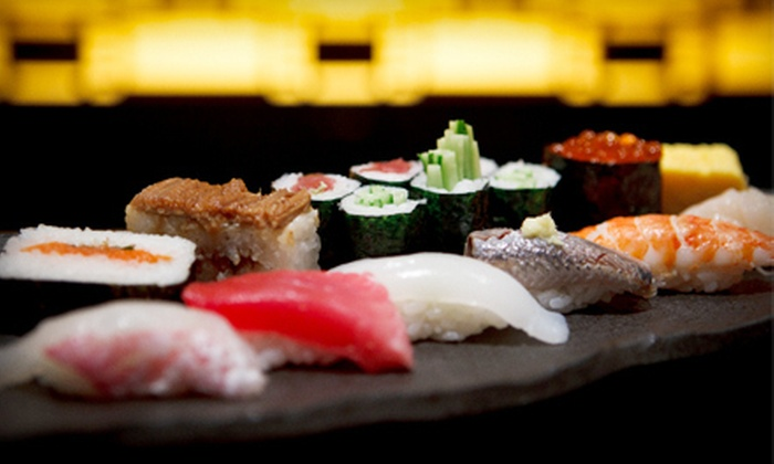 Hon machi Sushi & Cocktail - Chandler: $15 for $30 Worth of Sushi, Traditional Japanese Fare, and Drinks at Hon machi Sushi & Cocktail in Chandler