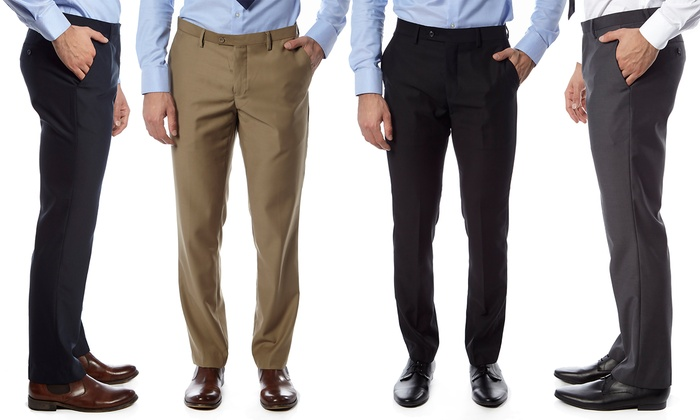 76% Off on Alberto Cardinali Pants (2-Pack) | Groupon Goods
