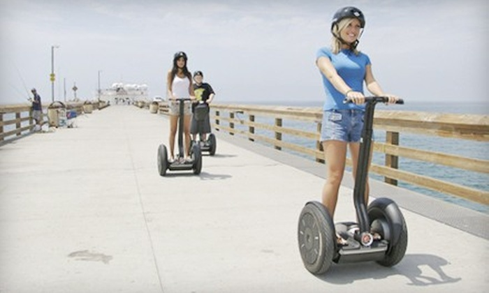 Newport Fun Tours - Newport Pier: Two-Hour Balboa Peninsula Segway Tour for One or Two from Newport Fun Tours (Up to 58% Off)