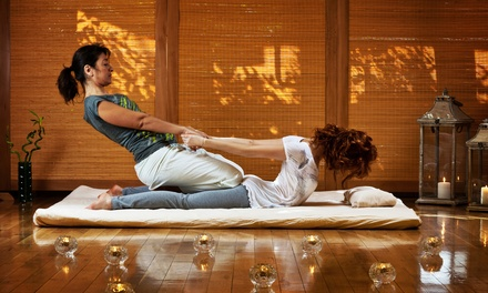 60- or 105-Minute Thai Massage at Pura Vida Massage Therapy (Up to 58% Off)