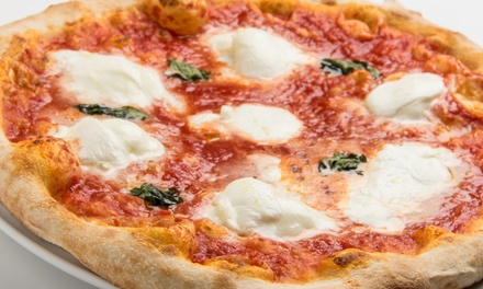 NY Style Artisan Pizza at Casa Pizzeria (Up to 40% Off). Two Options Available.