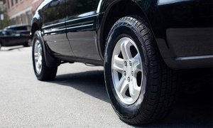 Brake Pad Replacement, Turning Of Rotors And Tire Alignment For One Or Two Axles (up To 46% Off)