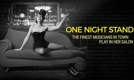"""Ticket für das Live-Musik-Erlebnis """"One Night Stand"""" mit 10 Künstlern im Januar im Ballhaus Berlin (bis zu 55% sparen)"""