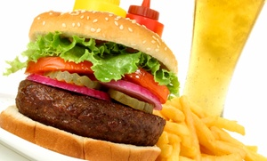 Wicked Willy's: Two or Four Draft Beers and Specialty Burgers at Wicked Willy's (Up to 53% Off)