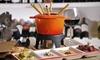 Bleu Chaud - tielt: Fondue menu op de markt van Tielt vanaf €44 bij Bleu Chaud