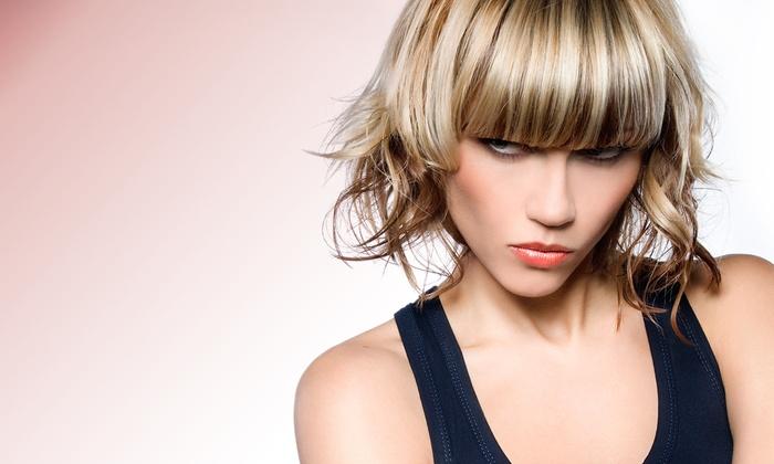 Safié Salon & Day Spa - Massapequa: Hair Styling and Coloring at Safié Salon & Day Spa (Up to 65% Off). Three Options Available.