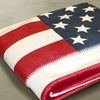 $20.99 for an Americana Sherpa Throw Blanket