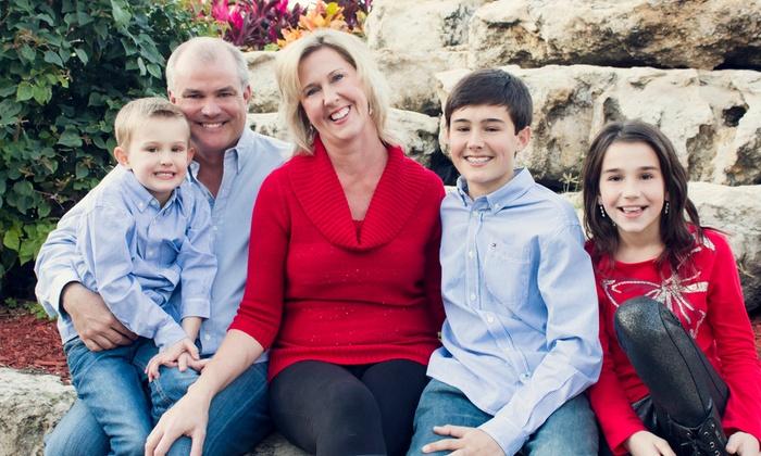 Newborn Studios Inc - Fort Lauderdale: 60-Minute Family Photo Shoot from Newborn Studios (75% Off)