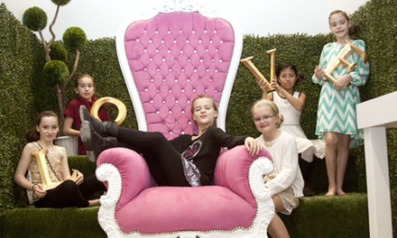 Girls' Birthday Party Package for Eight at Glamorous For Girls (Up to 33% Off). Two Options Available.