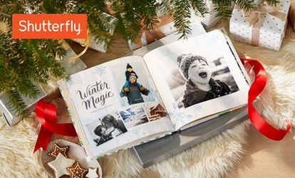image for Custom Photo Books from Shutterfly (Up to 87% Off)