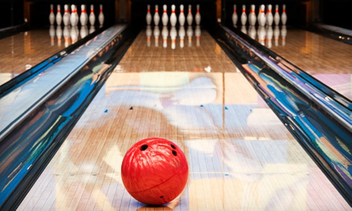 Oak Valley Lanes - Talbot's Corner: Two-Game Bowling Outing with Rental Shoes and Drinks for Up to 4 or 10 People at Oak Valley Lanes (Up to 60% Off)
