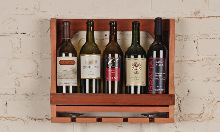 DIY Woodworking Class - Civic Center: Cut and Assemble a Wine Rack with Professional Woodworkers
