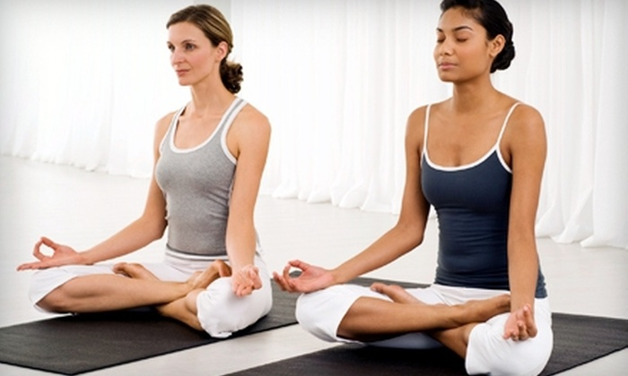 Body + Brain - Multiple Locations: 10 Drop-In or One Month of Unlimited Yoga Classes at Body & Brain (Up to 77% Off)