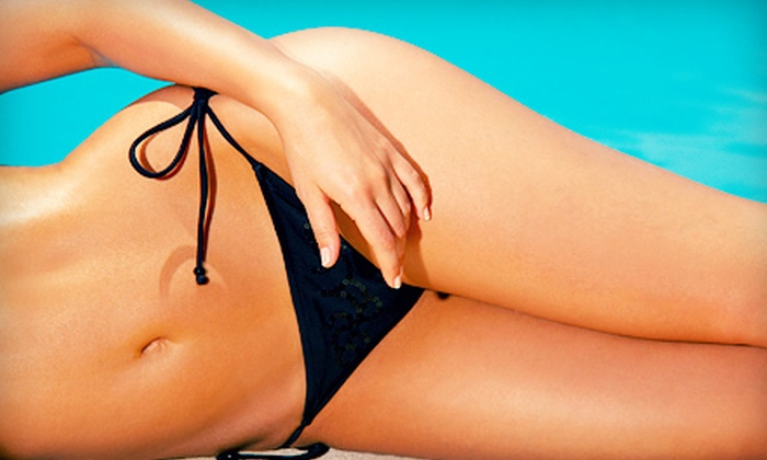 Bronzed Bunny - Irvine Business Complex: One or Two Bare Naked Bikini-Sugaring Sessions at Bronzed Bunny (Up to Half Off)
