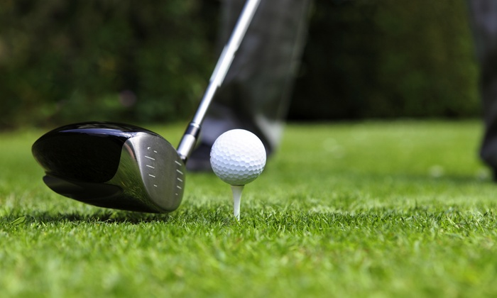 Wedges & Woods - Augusta: All-Day Driving-Range Access, Unlimited Range Balls, and Fountain Drink for One or Two (Up to 83% Off)
