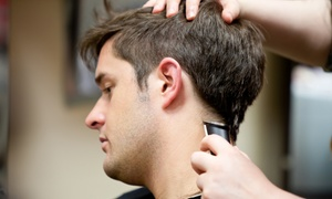 Jason at Uppercuts Hair Studio: CC$26.99 for a Men's Haircut with Deep Conditioning Treatment from Jason at Uppercuts Hair Studio (CC$50 value)