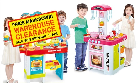From $25 for a Kids Interactive Doctor, Garden, Kitchen or Fast Food Playset