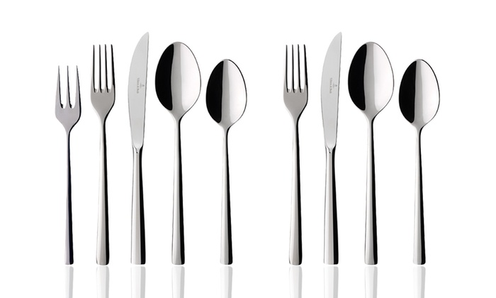 Set de couverts villeroy boch groupon for Set de cuchillos villeroy boch