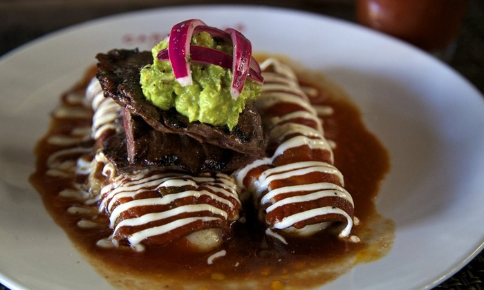 Carmelita's Restaurant - Multiple Locations: $12 for $20 Worth of Mexican Cuisine at Carmelita's Restaurant