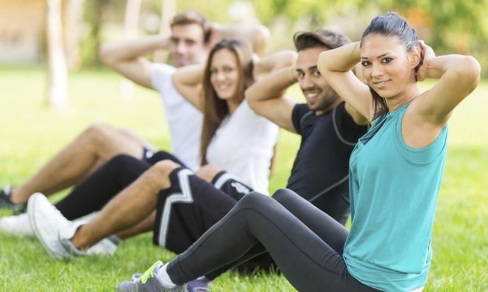 Majorliga Fitness - Mid-Wilshire: 10 Boot-Camp Classes at MajorLiga Fitness (65% Off)