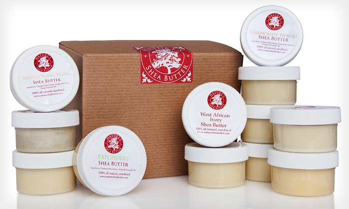 Nature's Shea Butter Mini Sampler: $24 for a Nature's Shea Butter 12-Piece Mini Sampler ($34 List Price). Free Shipping.