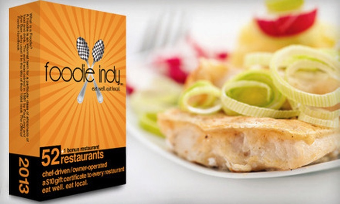 Foodie Indy: $20 for Restaurant Gift-Card Pack from Foodie Indy ($43 Value)