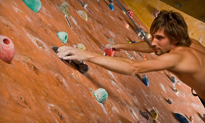 Climb Time Indy - Castleton: $20 for Three Indoor Climbs with Rental Shoes, Harness, and Chalk at Climb Time Indy (Up to $60 Value)