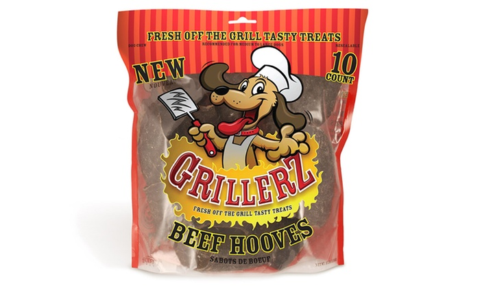 GrillerZ Beef Hooves 10-Count Pack: GrillerZ Beef Hooves 10-Count Pack. Free Returns.