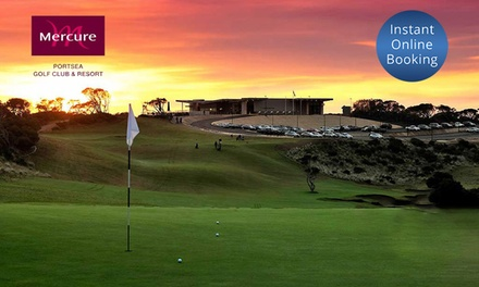 Portsea: 1-3 Nights for Two with Breakfast and Optional Golf or Bathing Passes at Mercure Portsea Resort & Golf Course