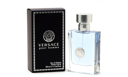 Versace Pour Homme Eau de Toilette Spray for Men; 1.7 Fl. Oz.