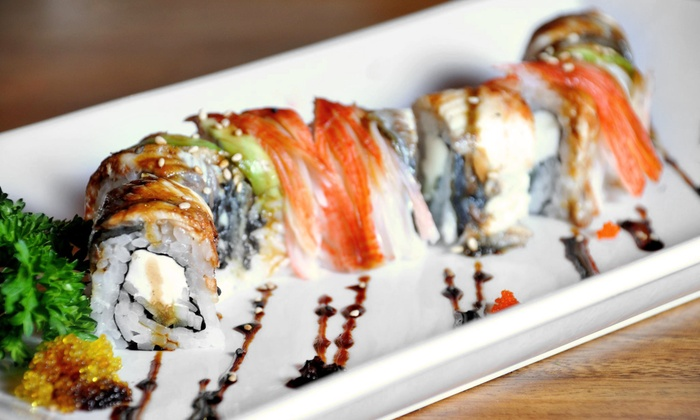 Carmine's Original Ocean Grill & Sushi Bar - Palm Beach Gardens: Seafood and Sushi at Carmine's Original Ocean Grill & Sushi Bar (Up to 55% Off). Two Options Available.