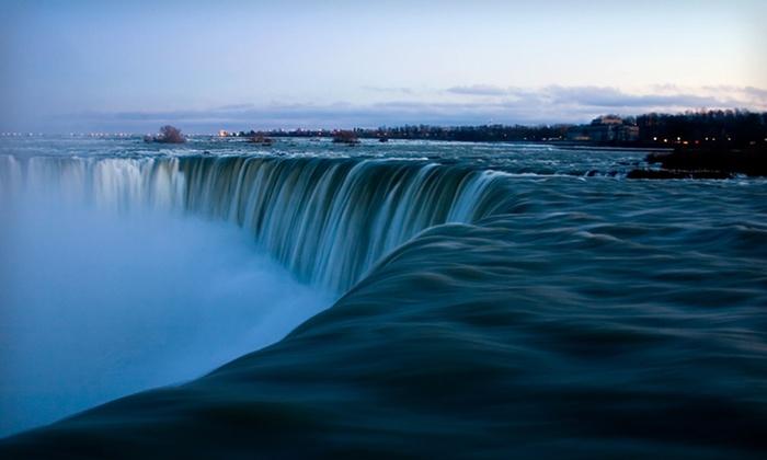Wyndham Garden Niagara Falls - Niagara Falls, ON: One-Night Stay with Dining and Casino Credits at Wyndham Garden Niagara Falls in Niagara Falls, ON