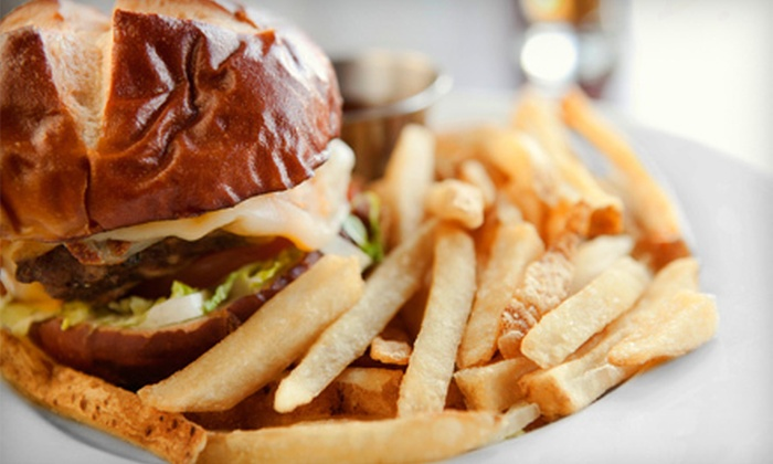 The Volstead - Athens-Clarke County unified government (balance): Burgers and Starters for Two or Four at The Volstead (Up to 58% Off)