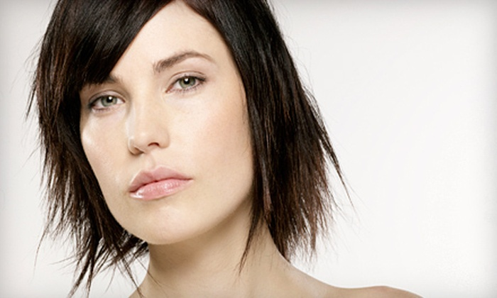House of Synergy - Long Beach: Haircut-and-Color Package at House of Synergy in Long Beach (Up to 72% Off). Three Options Available.