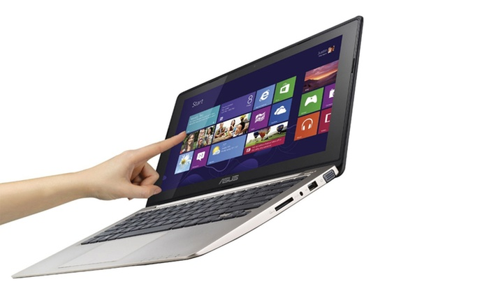 "ASUS 11.6"" Touchscreen Notebook PC: ASUS 11.6"" Touchscreen Notebook PC with Windows 8 (Q200E-BCL0803E) (Manufacturer Refurbished). Free Returns."