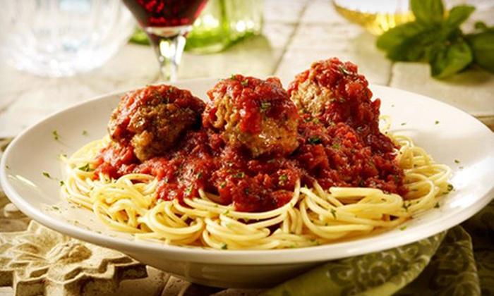 Spaghetti Warehouse - San Antonio: $12 for $20 Worth of Italian Cuisine at Spaghetti Warehouse
