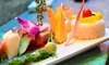 Mikado Asian Bistro - Canton : Sushi and Teriyaki Dishes for Dinner for Two or Four at Mikado Asian Bistro (Up to 42% Off)