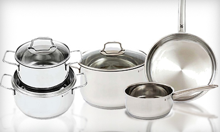 WMF Americas Inc - Lake Park: Five-Piece Kaiser Bakeware Set or Eight-Piece Collier Cookware Set at WMF Americas Inc in Indian Trail (Up to 63% Off)