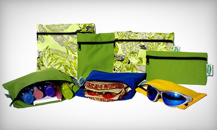 Re-Pac Bags: $15 for $30 Worth of Eco-Friendly, Reusable Food Bags from Re-Pac Bags