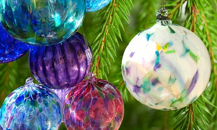 $15 for One Handmade Blown-Glass Ornament at Girl Glass ($30 Value)