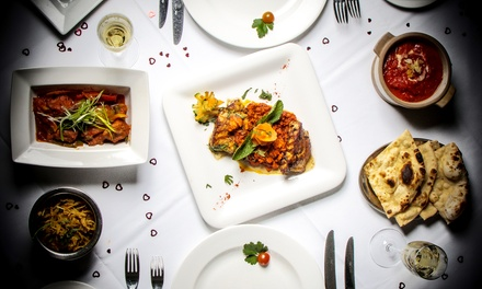 Two-Course Meal with Glass of Wine for Two or Four at Spice Fusion (Up to 61% Off)