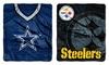 """NFL Raschel Throw – Assorted Teams (50""""x60"""")"""