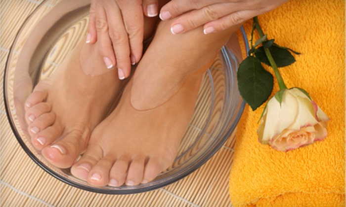 Melisa Lawrence at Artisan Salon - Tucson: $35 for a Rejuvenating Duo Mani-Pedi with Paraffin from Melisa Lawrence at Artisan Salon ($70 Value)