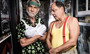 """""""Up In Smoke"""" Tour featuring Cheech & Chong and WAR: Pre-Sale """"Up in Smoke"""" Tour: Cheech & Chong with WAR at Cedar Park Center on Friday, July 24 (Up to 40% Off)"""