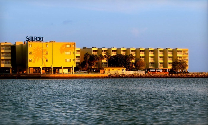 Sailport Waterfront Suites - Tampa, FL: One- or Two-Night Stay with Options for Massage and Store Credits at Sailport Waterfront Suites in Tampa